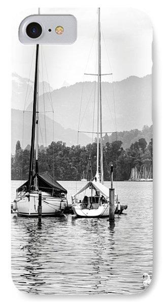 Lake Lucerne Switzerland  Phone Case by Nian Chen