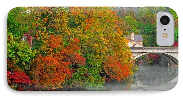 Lake Lure Autumn IPhone Case by Marion Johnson
