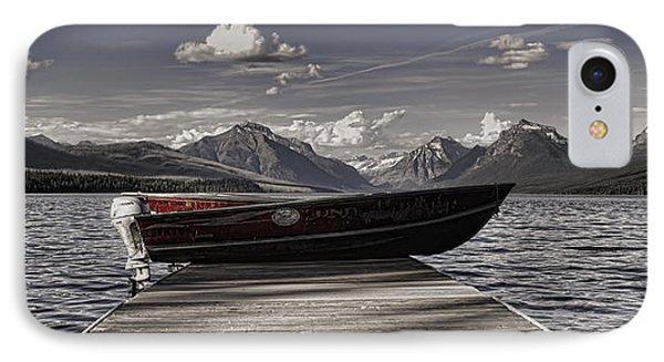 IPhone Case featuring the photograph Lake Mcdonald by Ellen Heaverlo
