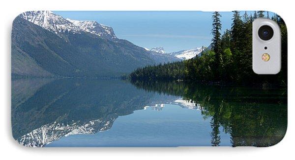 Lake Mcdonald - Glacier National Park IPhone Case by Lucinda Walter