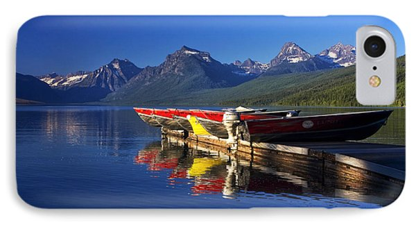 Lake Mcdonald Morning IPhone Case