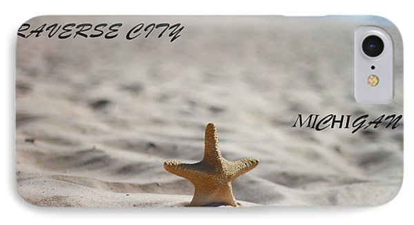 Lake Michigan Beach Traverse City IPhone Case by Dan Sproul