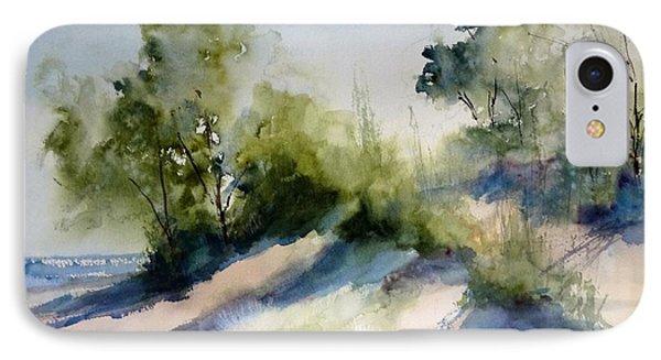 Lake Michigan Morning IPhone Case by Sandra Strohschein