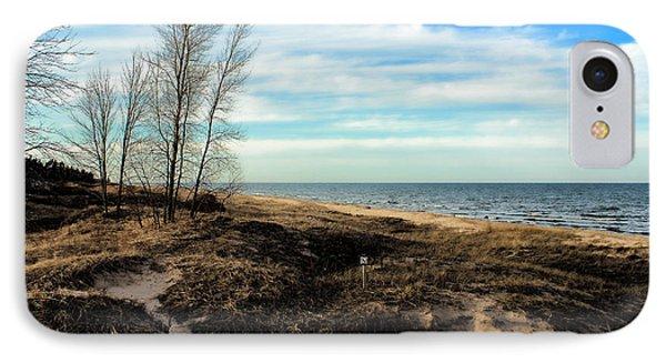 IPhone Case featuring the photograph Lake Michigan Shoreline by Lauren Radke
