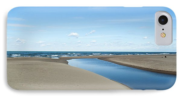 Lake Michigan Waterway  IPhone Case by Verana Stark