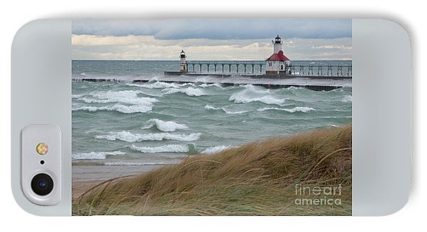 Lake Michigan Winds IPhone Case by Ann Horn
