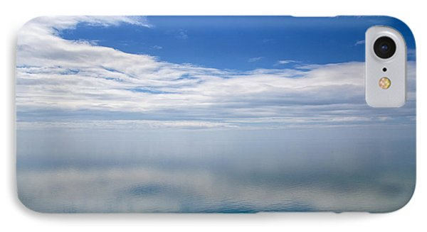 Lake Michigan's Lost Horizon IPhone Case by Mary Lee Dereske