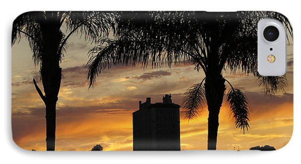 Lake Mirror Sunset Phone Case by Laurie Perry