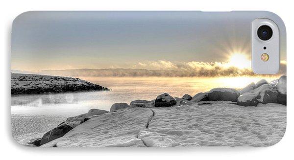 Lake Mjosa Inlet Phone Case by Chris Shirley