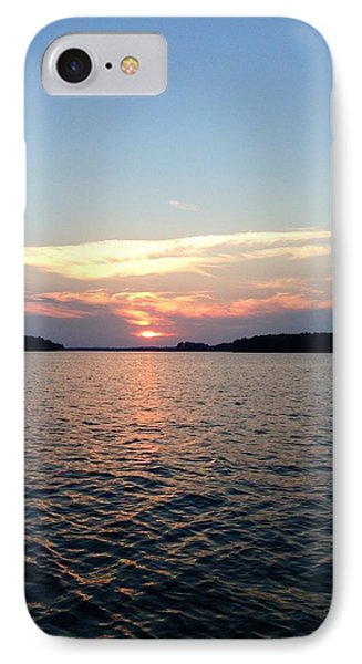 Lake Murray Sunset IPhone Case by M West
