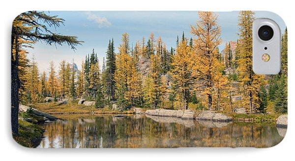Lake Ohara Alberta Canada IPhone Case