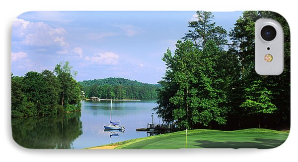 Lake On A Golf Course, Legend Course IPhone Case