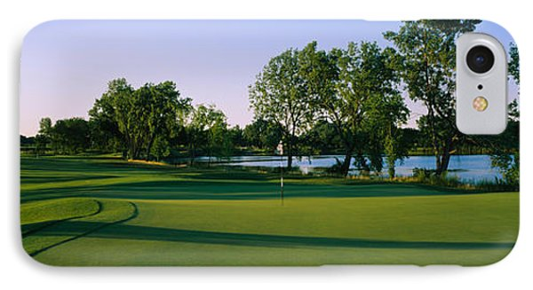Lake On A Golf Course, White Deer Run IPhone Case by Panoramic Images