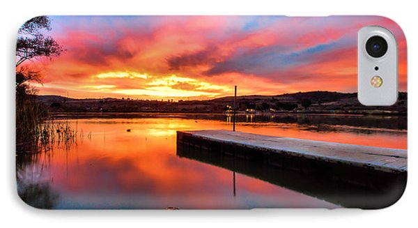 IPhone Case featuring the photograph Lake Oneil Sunset by Robert  Aycock
