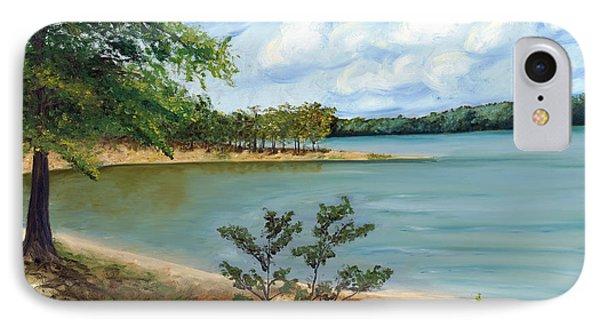Lake Ouachita Phone Case by Helen Eaton