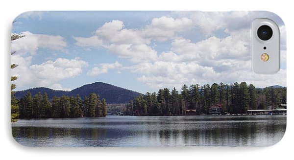 Lake Placid IPhone Case by John Telfer