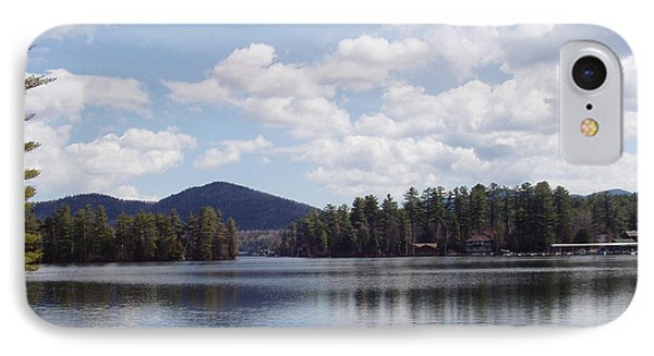 IPhone Case featuring the photograph Lake Placid by John Telfer