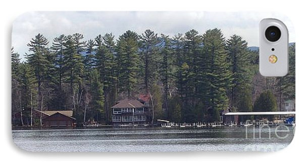 IPhone Case featuring the photograph Lake Placid Summer House by John Telfer