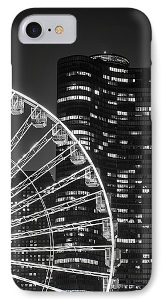 Lake Point Tower IPhone Case by Sebastian Musial