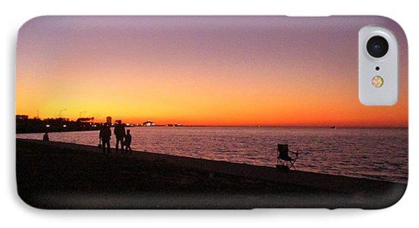 Lake Pontchartrain Sunset IPhone Case
