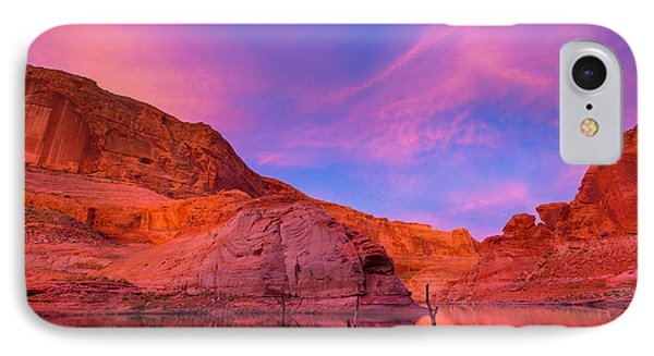 Lake Powell Dawn IPhone Case by Inge Johnsson