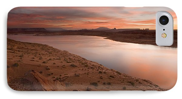 Lake Powell Dawning IPhone Case by Mike  Dawson