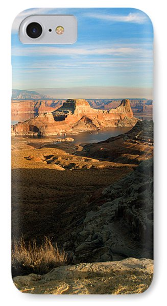 IPhone Case featuring the photograph Lake Powell From Alstrum Pt 02 by Jeff Brunton