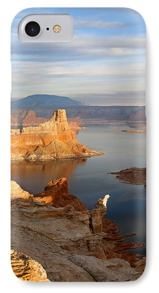 IPhone Case featuring the photograph Lake Powell From Alstrum Pt 12 by Jeff Brunton