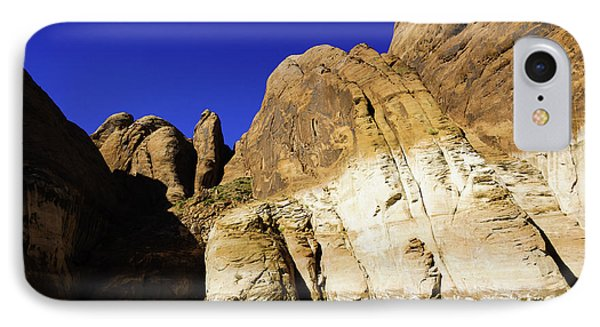 Lake Powell Rock And Sky Phone Case by Thomas R Fletcher