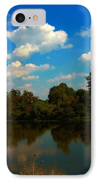 Lake Reflections IPhone Case by Jeff Kurtz