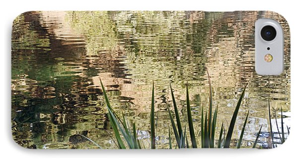 IPhone Case featuring the photograph Lake Reflections by Kate Brown