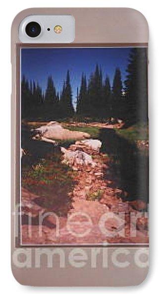 Lake Rivette Runoff Phone Case by Sharon Elliott