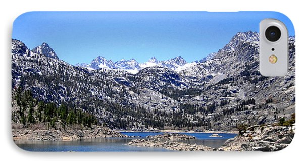 IPhone Case featuring the photograph Lake Sabrina by Marilyn Diaz