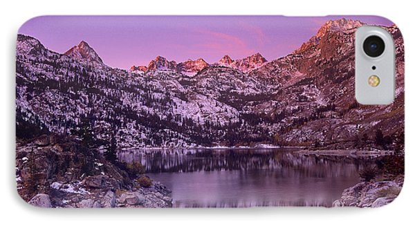 Lake Sabrina Sunrise Eastern Sierras California IPhone Case