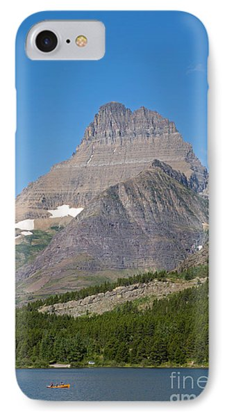 Lake Sherburne In Glacier National Park Phone Case by Natural Focal Point Photography