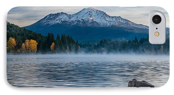 Lake Siskiyou Morning IPhone Case by Greg Nyquist