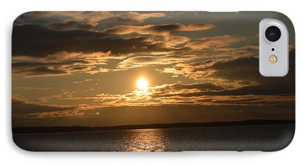 Lake Sunrise IPhone Case by Dacia Doroff