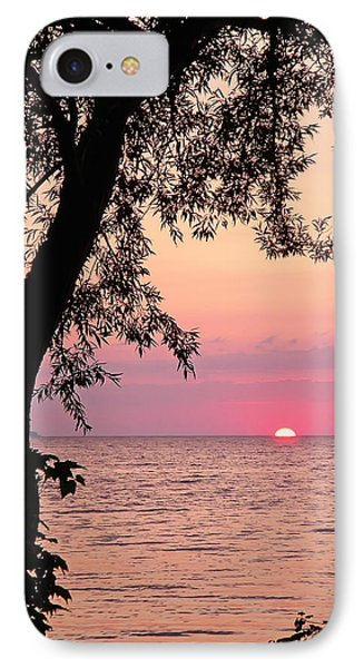 Lake Sunset IPhone Case by Aimee L Maher Photography and Art Visit ALMGallerydotcom