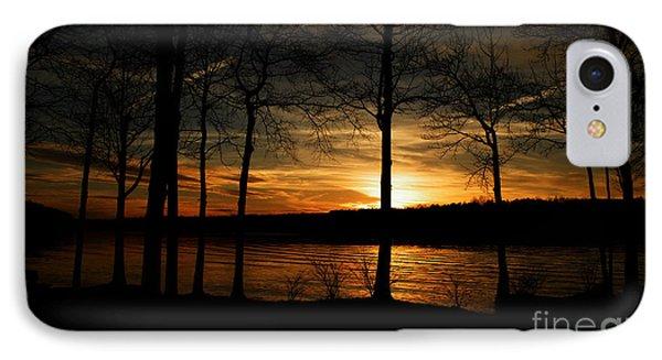 Lake Sunset IPhone Case by Christy Ricafrente