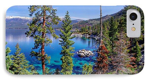 Lake Tahoe Eastern Shore IPhone Case by Scott McGuire