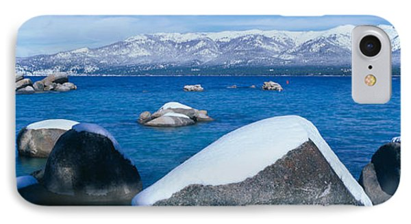 Lake Tahoe In Winter, California IPhone Case by Panoramic Images
