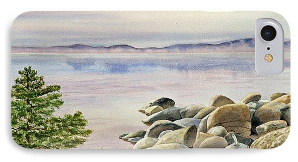 Lake Tahoe IPhone Case by Irina Sztukowski