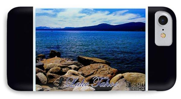 Lake Tahoe Magic Phone Case by Bobbee Rickard