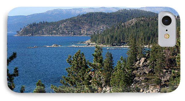 Lake Tahoe Nevada Phone Case by Aidan Moran