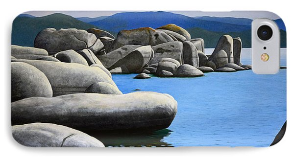 Lake Tahoe Rocky Cove Phone Case by Frank Wilson