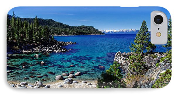 Lake Tahoe Springscape IPhone Case by Scott McGuire