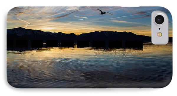 Lake Tahoe Sunset IPhone Case by Suzanne Luft
