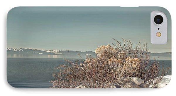 Lake Tahoe Winter Phone Case by Kim Hojnacki