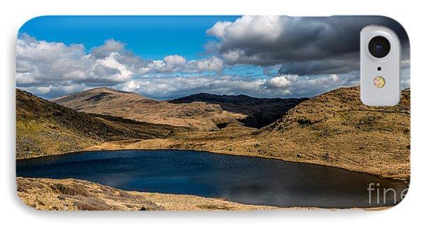 Lake Teyrn Snowdonia Phone Case by Adrian Evans