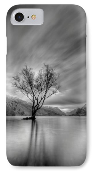 Lake Tree Mon IPhone Case by Beverly Cash